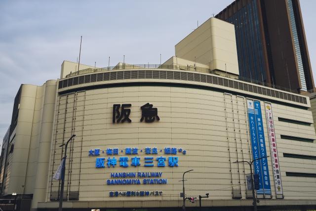 三宮駅周辺の風景
