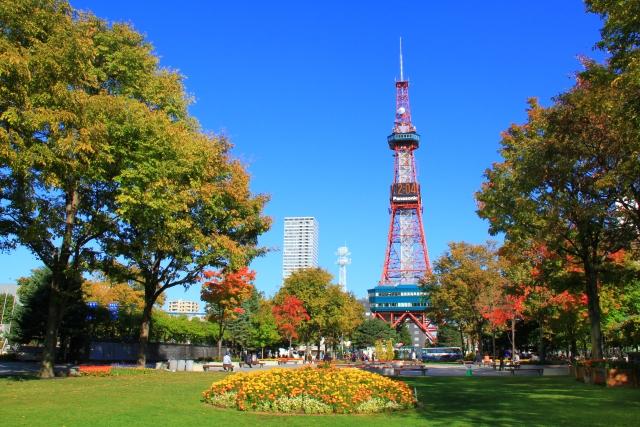 札幌-秋の大通公園
