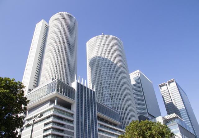 名古屋-JR名古屋駅のツインタワー