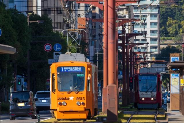 鹿児島-鹿児島を走る路面電車