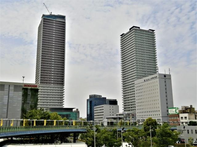 JR岐阜駅付近
