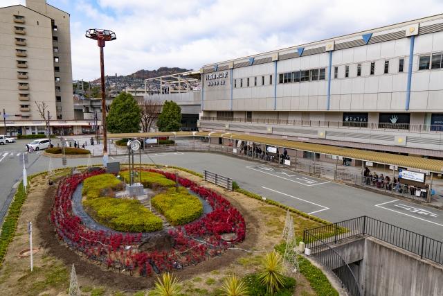 兵庫 川西能勢口駅