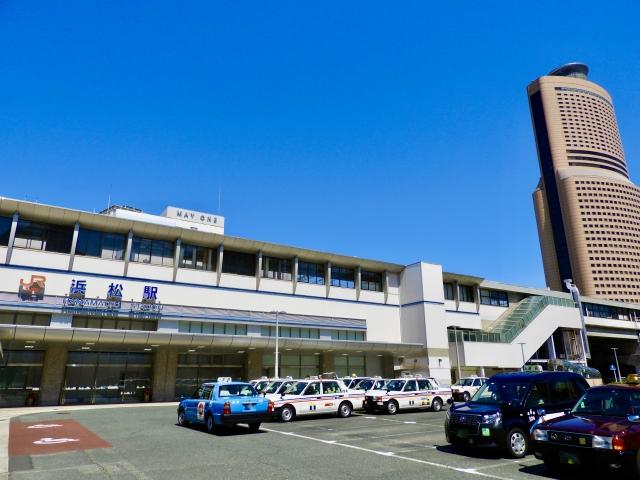 浜松-浜松駅南口とアクトタワー