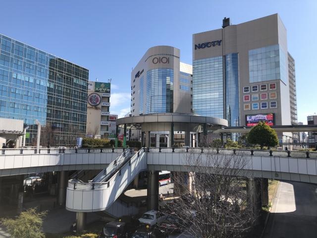 溝ノ口駅前