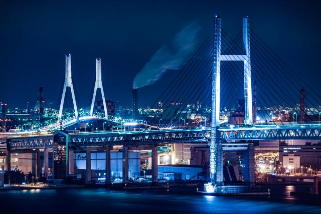 横浜-横浜ベイブリッジとつばさ橋